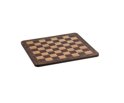 """17"""" Deluxe Burl Veneer Chess Board"""
