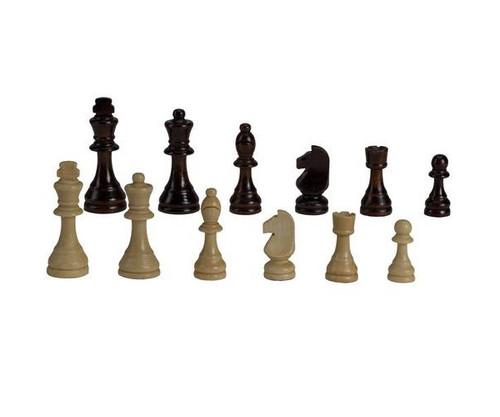 """3 1/2"""" Standard Wooden Chessmen"""