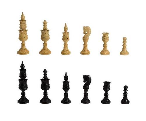 Wooden Indian Artistic Chessmen