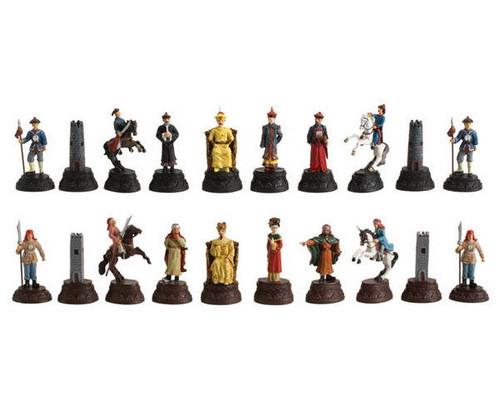 Chinese Qin Dynasty Metal Chessmen