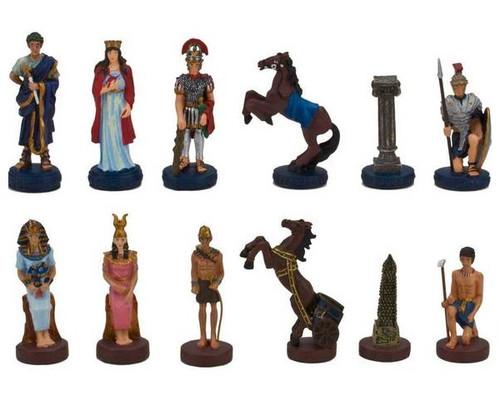 Roman vs Egyptian Chessmen