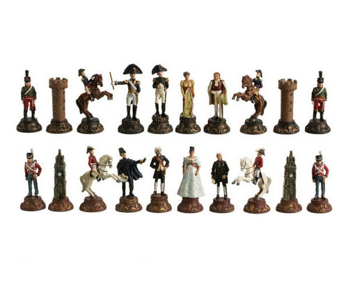 Battle of Waterloo Poly Chessmen