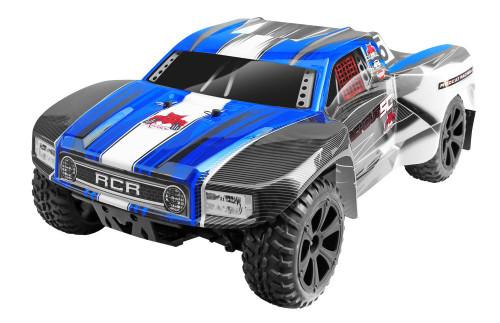 1/10 Blackout SC RC Short Course Truck 4WD Electric 2.4GHz Blue
