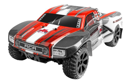 1/10 Blackout SC RC Short Course Truck 4WD Electric 2.4GHz Red