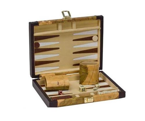 "9"" Vinyl Map Backgammon"