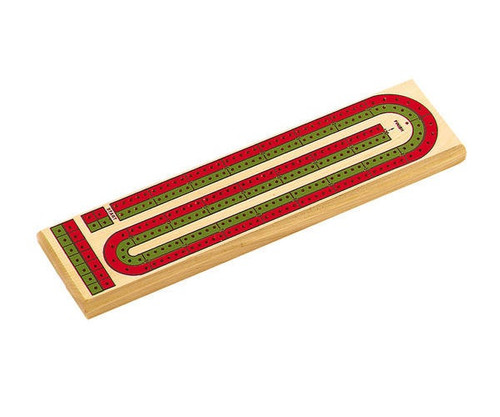 """14"""" Deluxe 2 Track Color Cribbage"""