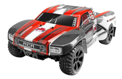 1/10 Blackout SC PRO RC Short Course Truck 4WD Brushless 2.4GHz Red