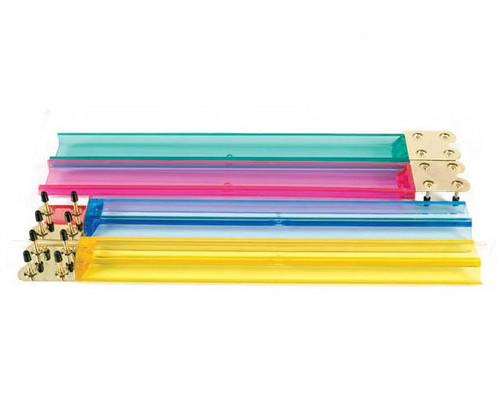 Transparent Color Mah Jong Racks 4 pc