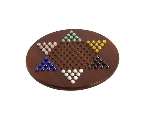 Jumbo Chinese Checkers with Marble