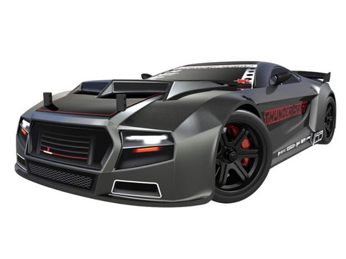 1/10 Thunder Drift RC Car 4WD Electric Belt Drive 2.4GHz Gun Metal