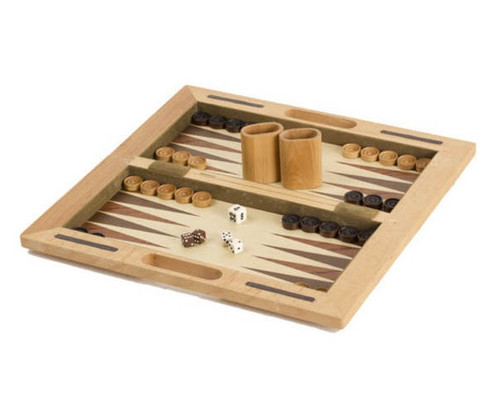 """16"""" Wooden 3 in 1 Game Set"""