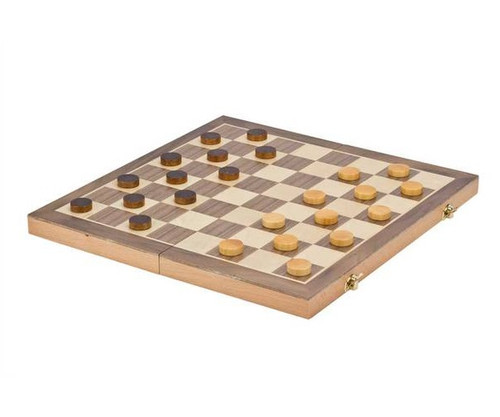 """15"""" Wooden Folding 3 in 1 Game Set"""