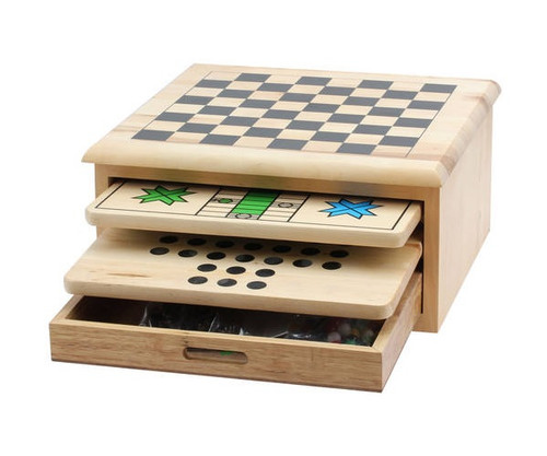 Wooden 10 In 1 Game Set