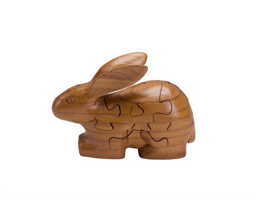 Wooden Rabbit Puzzle