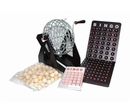 """7 1/2"""" Wooden Bingo Set"""