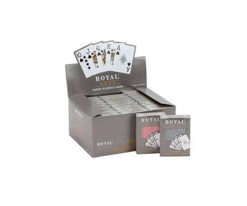 Coated Big Number Cards 24 Pack