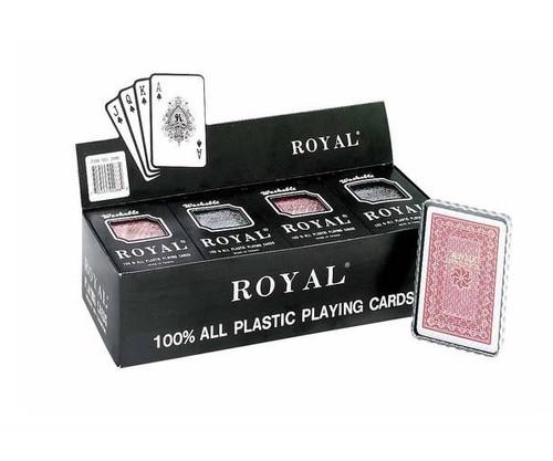Plastic Bridge Cards 12 Pack