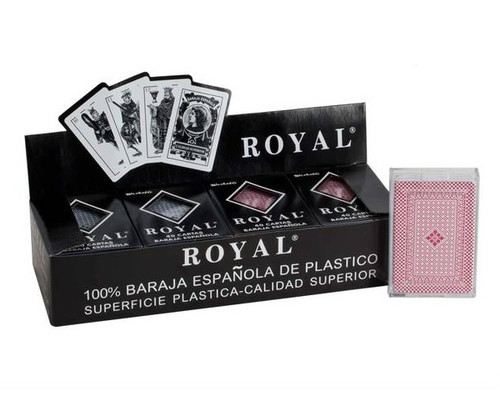 Deluxe Spanish Playing Card 6 Pack