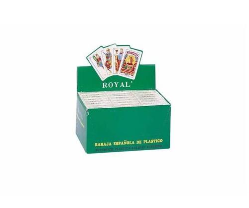 Spanish Plastic Cards 24 Pack