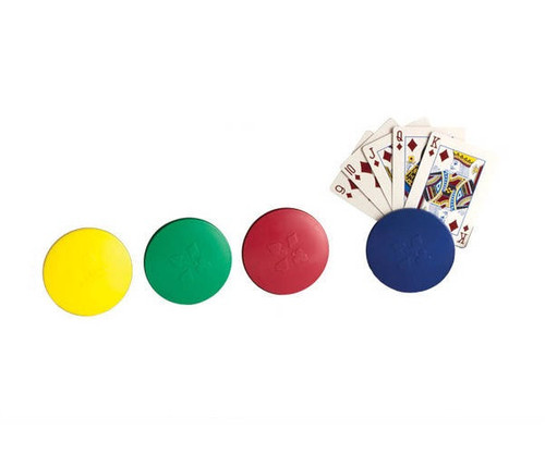 4 Round Card Holder with Case