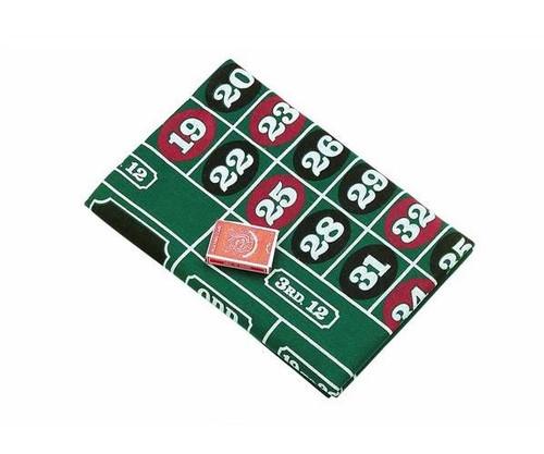 "Roulette & Blackjack Layout 72"" x 36"""