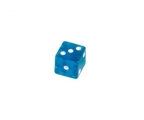 Blue Translucent Dice 100 pcs