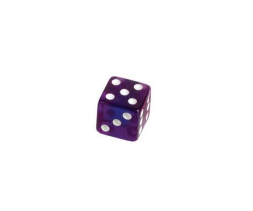 Purple Translucent Dice 100 pcs