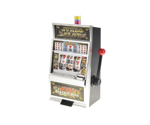 Jumbo Lucky Seven Coin Bank Slot Machine