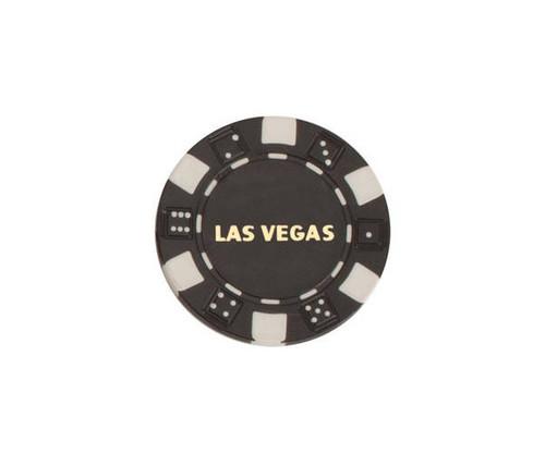 Black $100 Las Vegas Dice 11.5G Poker Chips 50 pcs