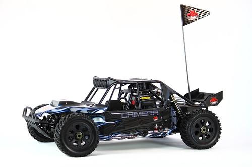 1/5 Rampage Chimera RC Buggy Sand Rail 4WD Gas 2.4GHz Blue