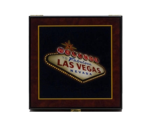 100 PC Las Vegas High Gloss Poker Set