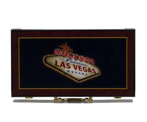 300 PC Las Vegas High Gloss Poker Set