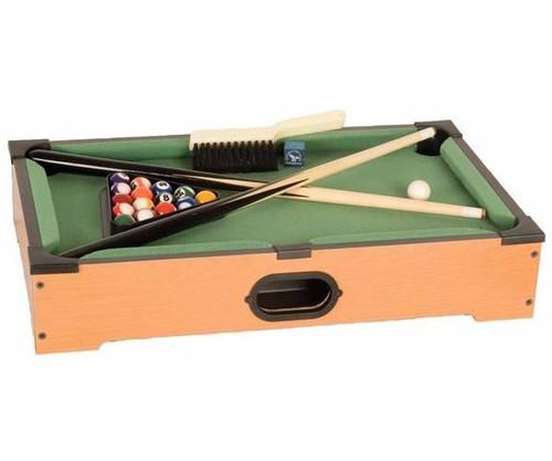 "21"" Mini Pool Table Top Game Set"