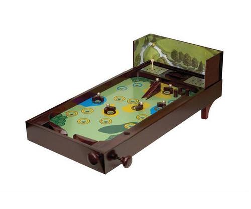 Wooden Golf Pinball Game
