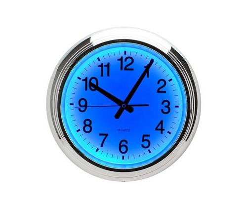 Blue LED Wall Clock