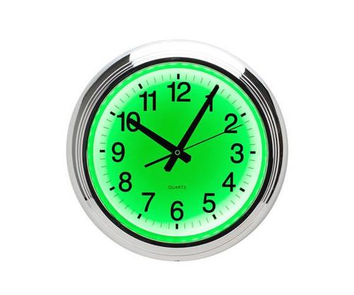 Green LED Wall Clock