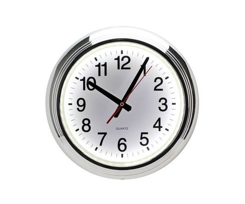White LED Wall Clock