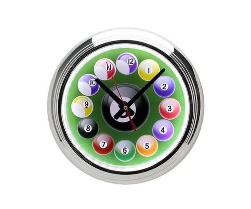 Billiard LED Wall Clock
