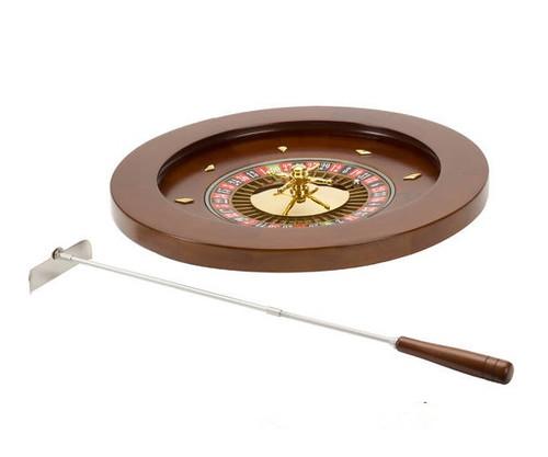 """18"""" Wooden Roulette Wheel"""