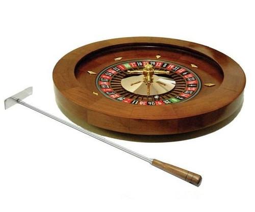 """16"""" Wooden Roulette Wheel"""