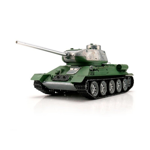 1/16 Torro Russia T34/85 RC Tank 2.4GHz Airsoft Metal Edition Unpainted