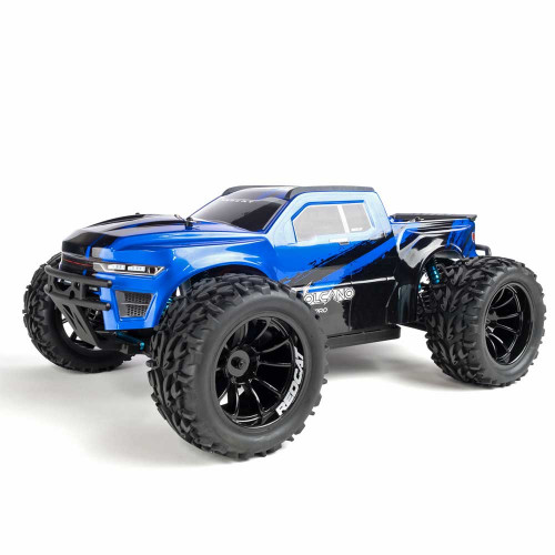 1/10 Volcano EPX PRO RC Monster Truck 4WD Brushless 2.4GHz Blue New