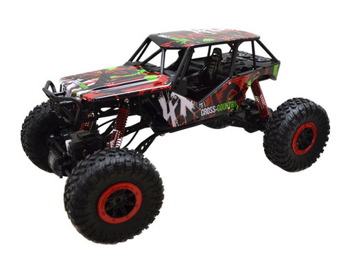 1/10 Crazy SUV Rock Crawler RC Monster Truck Electric 4WD 2.4 Red