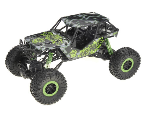 1/10 Crazy SUV Rock Crawler RC Monster Truck Electric 4WD 2.4 Green