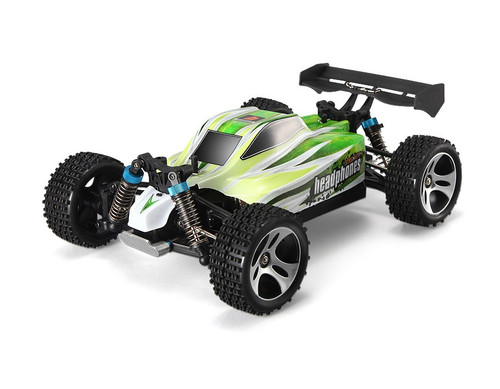 1/18 Storm Cross Country RC Buggy Electric 4WD 2.4GHz Green