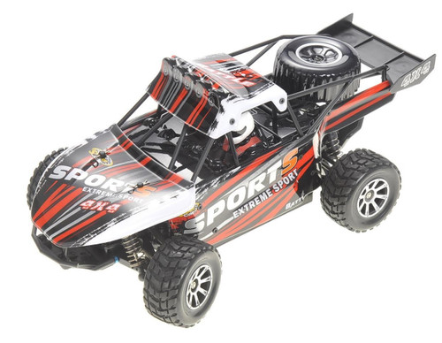 1/18 Storm Cross Country RC Buggy Electric 4WD 2.4GHz Red