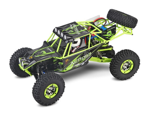 1/10 Wild Warrior Rock Crawler RC Monster Truck 4WD LCD Electric 2.4GHz