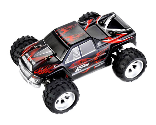 1/18 Vortex RC Monster Truck 4WD Electric 2.4GHz Black
