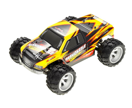 1/18 Vortex RC Monster Truck 4WD Electric 2.4GHz Yellow