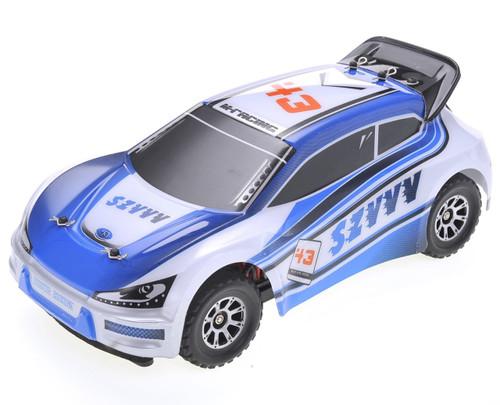 1/18 Vortex Rally RC Car 4WD Electric 2.4GHz Blue